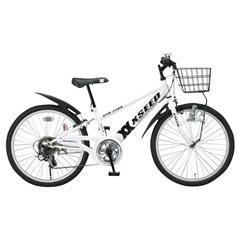 自転車 XSEED ホワイト (型番 ...