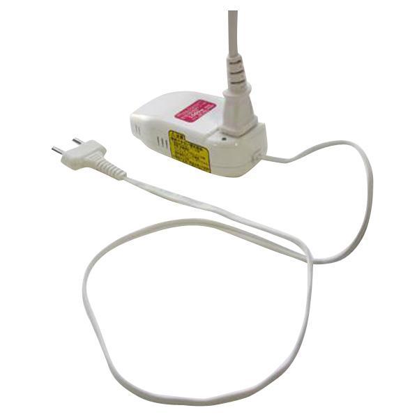 ヤザワ 海外旅行用変圧器 ホワイト (型番:HTDC2)            <a name=