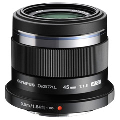 �I�����p�X �P�œ_�����Y 45MM F1.8 BLK M.ZUIKO DIGITAL 45mm F1.8 �u���b�N