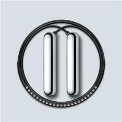 Tangram Factory Inc. SMART ROPE CHROME M�T�C�Y SR_CH_M  CHROME